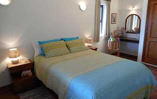 Slaapkamer, vakantiehuis, algarve, Portugal